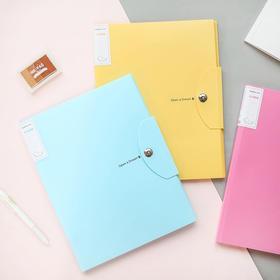 15入资料册试卷夹办公用品学生用插页袋多层透明文件夹