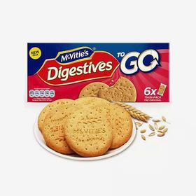英国麦维他 全麦粗粮酥性原味消化饼干