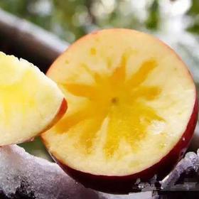 新疆阿克苏红旗坡冰糖心苹果约10斤/箱(单果直径80mm以上中大果)(暂只发武汉三环内)