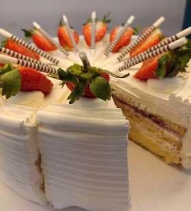 【双12秒杀】单块乳脂奶油蛋糕西点