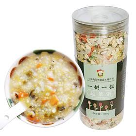小神龟宝宝蔬菜粥真空罐装丨谷物配方营养多样 | 325g【严选X米面粮油】