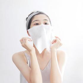 「美容洁面巾,出差必备」棉册CottonMate净柔洁面巾  超值4-6包装  一次性洗脸巾 纯棉洁面巾  干湿两用 抽取式