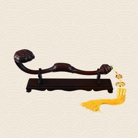 故宫博物院 三多纹交趾黄檀木如意