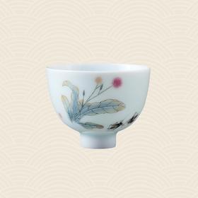 故宫博物院 玉瓷单杯·蒲公英