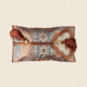 故宫博物院 如意纸巾盒·夔龙八达晕