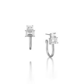 PANACHE CHASUNYOUNG 水晶造型耳环