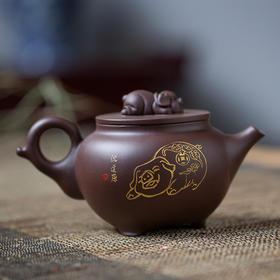 金猪纳福 紫砂壶