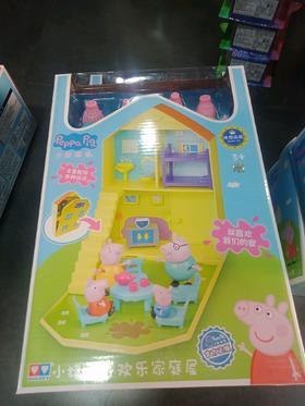 小猪佩奇欢乐家庭屋582115