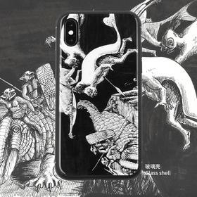 「夜之袭」吕谦手绘奇异大陆系列艺术手机壳