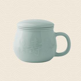 故宫博物院 寿字苹果杯