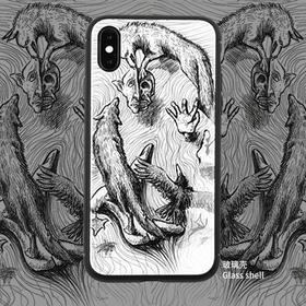 「梦之狼」吕谦手绘奇异大陆系列艺术手机壳