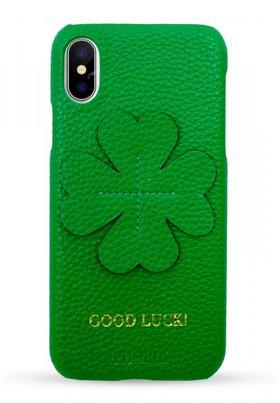IPHORIA  Iphone X/XS 手机壳  -  绿色幸运草款