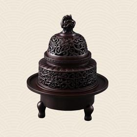 故宫博物院 龙钮三足熏炉