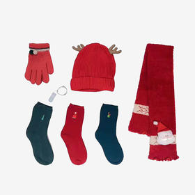 童袜王国 圣诞礼盒套装(含6件)
