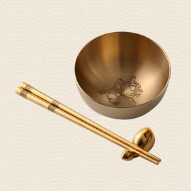 故宫博物院 金猴献瑞儿童套碗