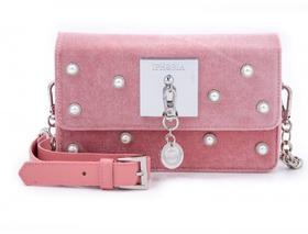 IPHORIA  Micro Shoulder 迷你肩背包  -  粉色珍珠款