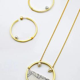 「無门」·庭竹系列·圆·长项链·现货
