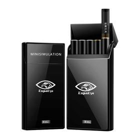 斯迪仿真烟套装鹰眼EagleEye电子蒸汽烟一次性烟弹辅助戒香烟烟草薄荷中华味口烟