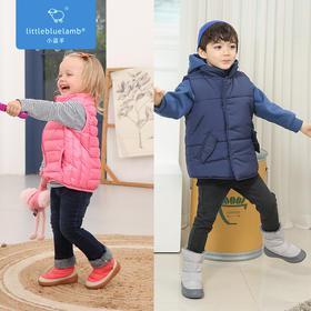 小蓝羊 儿童冬季加绒雪地棉靴