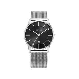 Bering 白令 石英表男士手表小表盘日历简约时尚大三针商务男腕表 13139-002