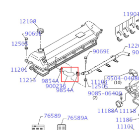 气门室弯管SK330/350/380