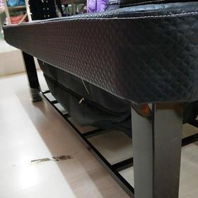 A-059铁架熏蒸床方腿不带艾灸(带熏蒸锅)