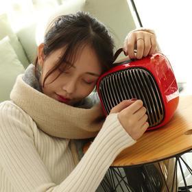 【暖风机中的劳斯莱斯,3秒极速发热、下单送护手霜一支,倾倒自动断电、PTC陶瓷恒温安全发热】三板斧小V智能暖风机  复古颜值派取暖器