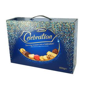 英国Mcvitie's麦维他欢庆纪念饼干礼盒850g