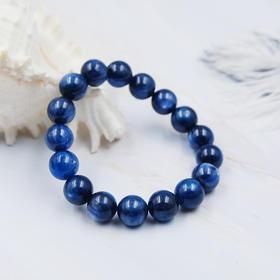 4折*天然蓝晶石圆珠手串