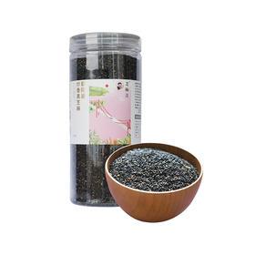 鄱阳湖熟黑芝麻 现炒熟黑芝麻即食瓶装 200g/罐