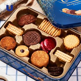皇家御用茶点 多种口味随心畅享 麦维他生日欢庆纪念饼干礼盒精美大号简约英伦风礼盒套装 麦维他创始人英国公爵GRANT诞辰120周年纪念礼盒
