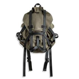 【印象美军山地背包】美式复古水洗帆布大容量双肩包