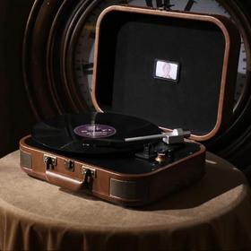 巫·1900黑胶唱机:致敬海上钢琴师版  倾听岁月的袅袅余音(黑色现货,棕色9月20号到货)