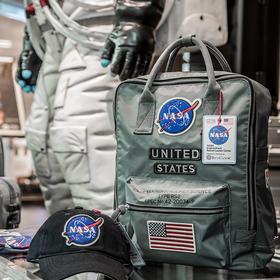 「阿波罗纪念版」Redcanoe宇航员NASA背包 双肩包/男女书包/帆布旅行商务包/电脑包