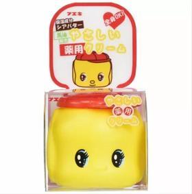日本FUEKI福而可好朋友俏皮娃娃小黄鸭宝宝儿童马油面霜 全家可用 50g