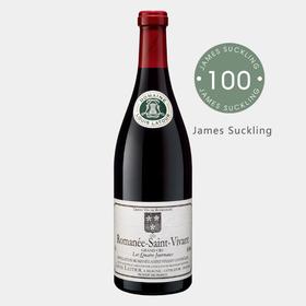 【劲爆罕见100分勃艮第】JS100分!路易拉图酒庄罗曼尼-圣维旺特级园干红 2016 【限量24支直采预售】