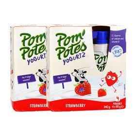 Pom Potes法优乐酸奶*2组(1组=4包)四个口味,两个口味任意组合