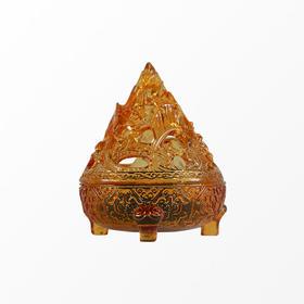 五行琉璃博山炉