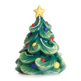 franz法蓝瓷 欢庆时光圣诞树摆饰
