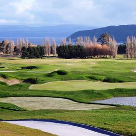 (新西兰#4)金洛克高尔夫俱乐部 The Kinloch Club