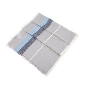 TINO COSMA  意大利条纹棉质丝巾围巾