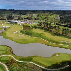 (新西兰#9)新西兰怀努伊高尔夫俱乐部Wainui Golf Club