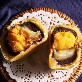 海鸭蛋黄酥 6枚 零食小吃传统糕点美食点心