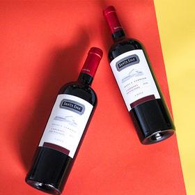 圣艾玛赤霞珠红葡萄酒750毫升