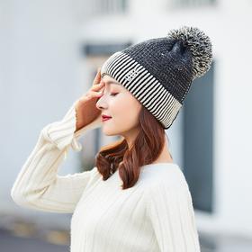 【清仓特价 不退不换】MBC扣子毛线帽TZF