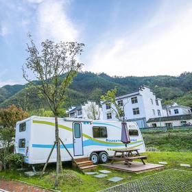 途居黄山露营地---标准房车