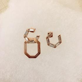 PANACHE CHASUNYOUNG 双C造型耳环