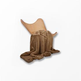 眠趣丨秋田绒双层蓄热毛毯