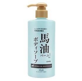日本北海道 Loshi马油沐浴露身体乳套装(600mlX2)