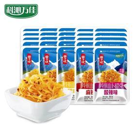 科沁万佳卜留克咸菜酱菜早餐下饭小菜80g/袋无添加5包/份